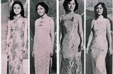 沿用了1977年的旗袍造型,在1978年的港姐选秀中在旗袍款式上也发生了细微的变化,除了侧襟开领的装扮,连慧玲那身直襟开领造型为她带来了和其他夺冠者与众不同的魅力。