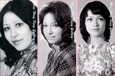 在1974年这张老照片上,张文瑛、杜朱迪、李锦文三人的衣品也得到了些许透露,其中张文迪的立领旗袍更体现了她端庄的成熟形象。