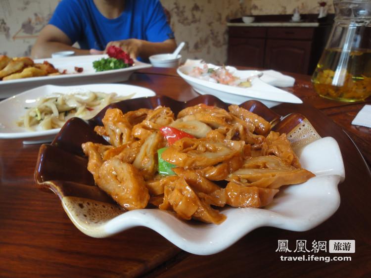奥索卡_斋饭可以这样吃 五台山豪华素菜比肉贵_旅游频道_凤凰网