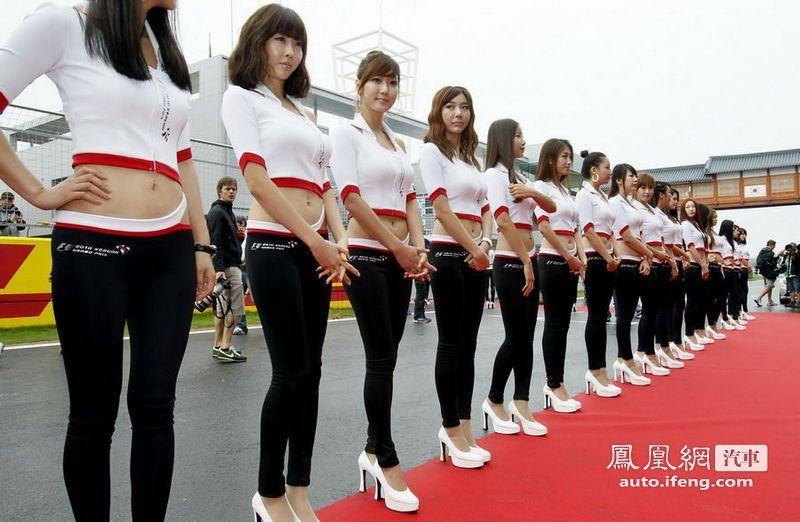 赛车女郎之亚洲美女 汽车频道