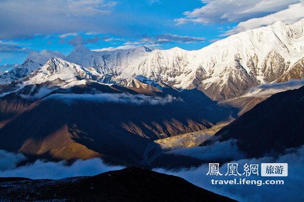川西高原 灵魂飘荡在云海与雪山之间