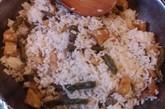 苗家洋芋豆角饭,吃起来就像是洋芋(土豆)和豆角下饭。