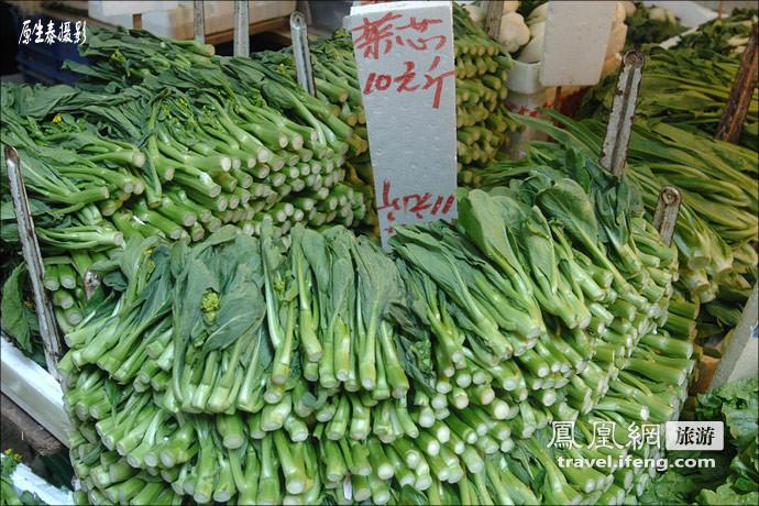 不比不知道 由香港菜市场看北京的差距