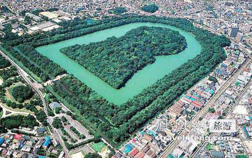 比秦始陵大的日本陵墓 动用180万劳工