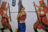 中国历史上,绞刑通常不是最低级的死刑。正相反的是,高官皇族为保留全尸,通常会要求自缢赐死或绞刑处死,而不是可能导致身首异处的斩首。但是绞刑是一个时间长的过程,受刑人会相当痛苦。