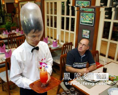 """惹眼的泰国""""安全套""""餐厅"""