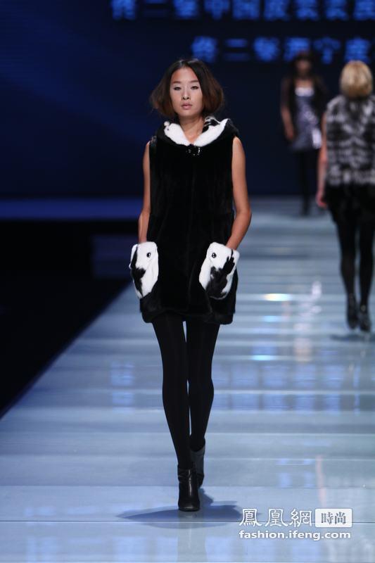 佟二堡高级皮草时装2011发布