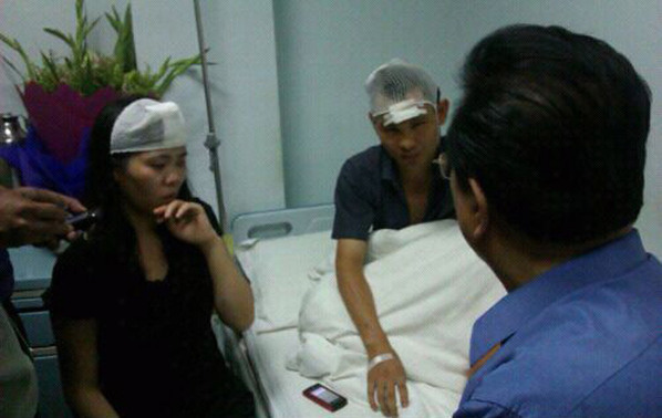 李双江探望伤者:我没有教育好儿子