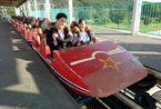 """游玩平壤凯旋公园 体验朝鲜的""""迪斯尼乐园"""""""