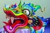 """属于中国特色的""""龙""""蛋糕雕塑,让老外也是赞赏不已。"""