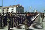 1959年国庆十周年阅兵:林彪唯一一次任阅兵首长