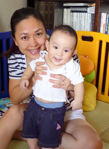 谢亚芳与小王子的快乐生活
