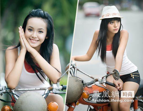 13岁,本应该是上初中的年龄,而对于一夜走红的越南美少女