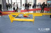刀锋300无人机翼展3米。机长2.35米,最大起飞重量31kg,实用升限3000米。图为刀锋460无人机 齐越 摄