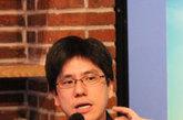 马世芳在凤凰网读书会现场