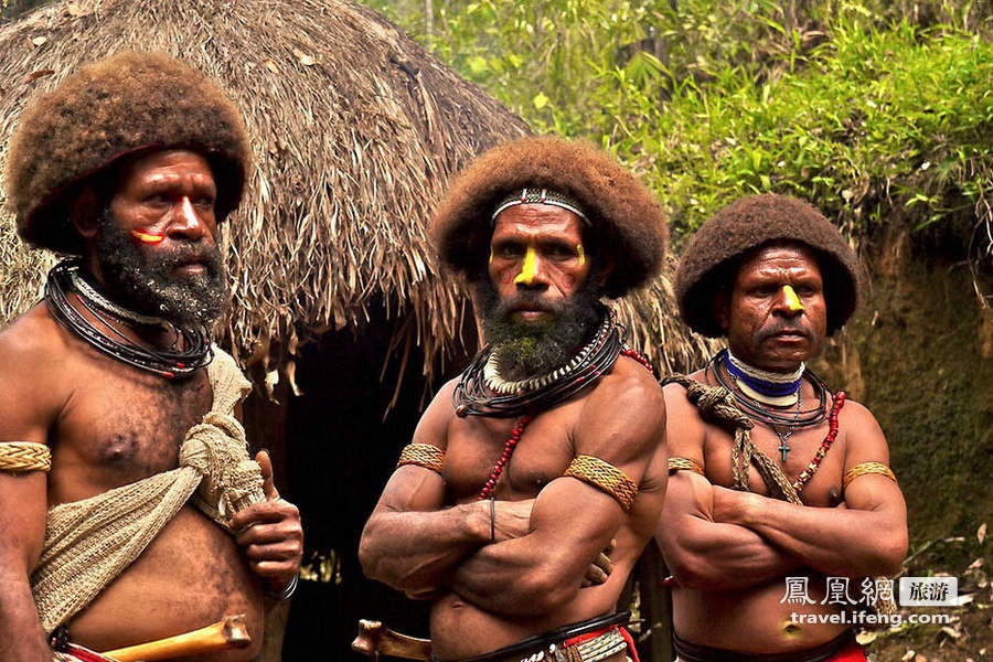 世界上最神奇的国家:巴布亚新几内亚 - 原始社会 - 原始社会的博客