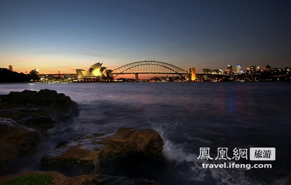 迷人的悉尼之夜 户外风景夜拍