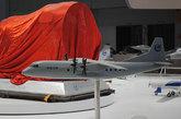 北京国际航展上展出的运-9运输机模型