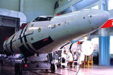 东风-21中程弹道导弹,源自于巨浪-1型潜射弹道导弹。