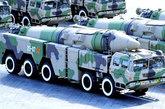 改进型的东风-21C中程弹道导弹