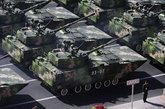 ZTD-05系列两栖战车包括多种变型,图为ZTD-05两栖突击车。