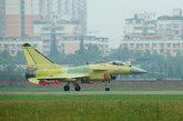 改进型歼-10B战斗机。