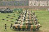 装备中国陆军的96式主战坦克