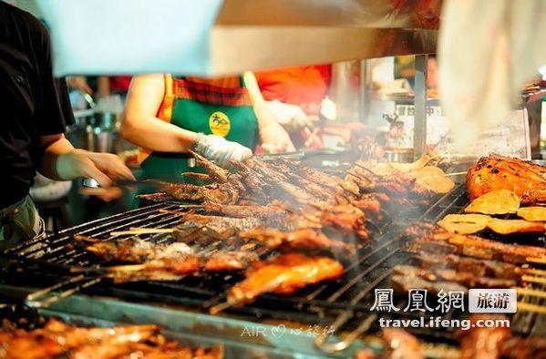 台湾六合夜市寻美食尝遍特色美食小吃江汉路宝岛榜图片