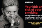 经常暴露在二手烟环境中的儿童更易换上恶性哮喘病。(资料图)