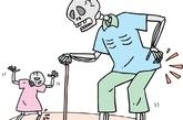 疼痛   原发性骨质疏松症最常见的症症,以腰背痛多见,占疼痛患者中的70%-80%。疼痛沿脊柱向两侧扩散,仰卧或坐位时疼痛减轻,直立时后伸或久立、久坐时疼痛加剧,日间疼痛轻,夜间和清晨醒来时加重,弯腰、肌肉运动、咳嗽、大便用力时加重。(图片来源:凤凰网健康)