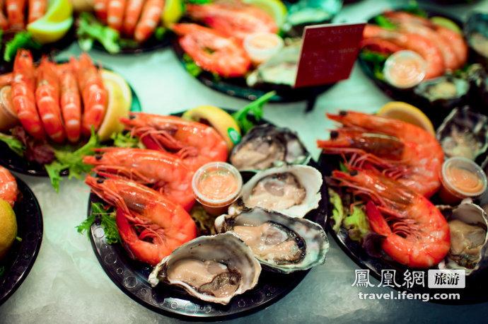 逛鱼市吃海鲜 驴友实拍悉尼最大海鲜市场
