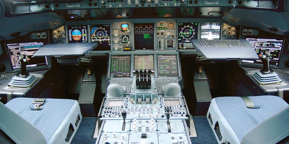 空客a380驾驶舱