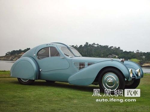 1936年产布加迪拍出天价 价值近4000万美元