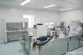 精子库实验室全景。