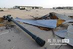 利比亚当局在废弃基地捡到一批完好的战车和飞机