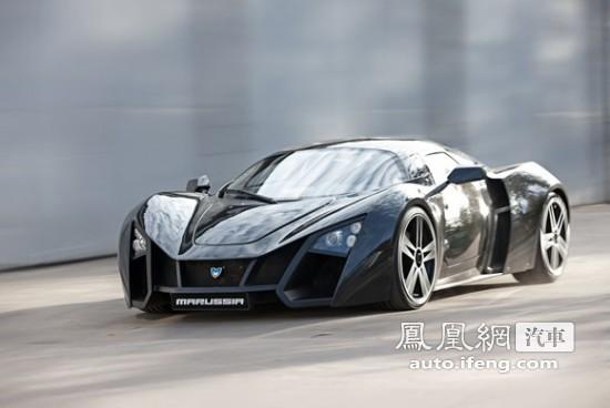 俄罗斯出品的超级跑车Marussia B2