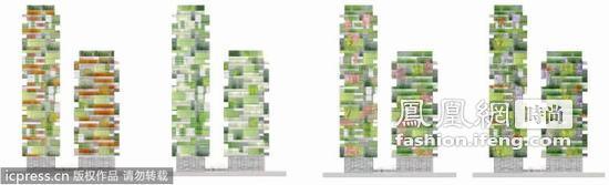 """意大利建世界首座""""垂直森林""""公寓"""