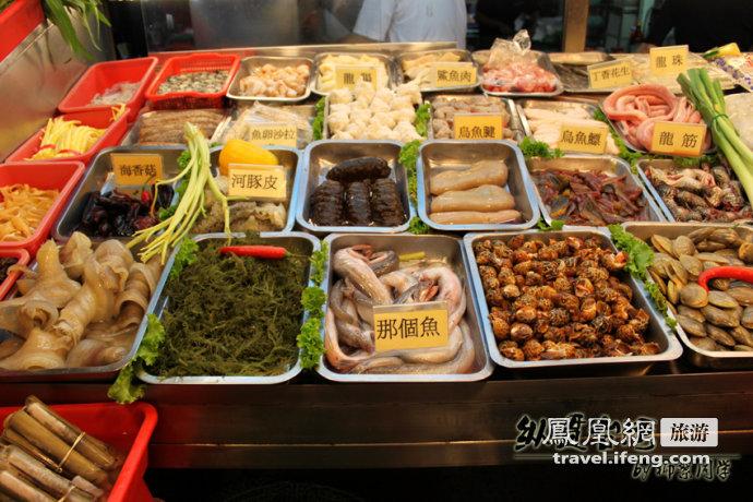 海鲜大排档:想吃哪个鱼?