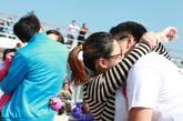 带着爱去旅行接吻大赛在歌诗达邮轮上举行。参加活动的情侣们深深地参与其中,这无关奖品有关风月。