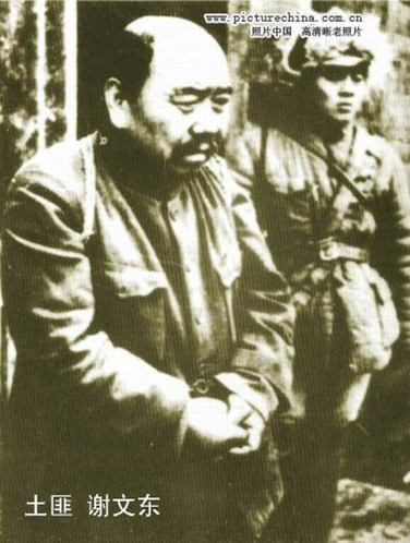 东北剿匪中被抓的匪首谢文东:曾是抗联军长