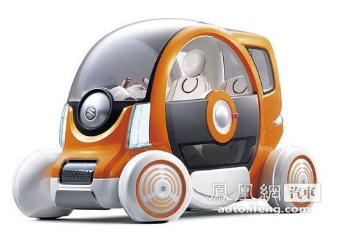 铃木超可爱电动车亮相东京车展