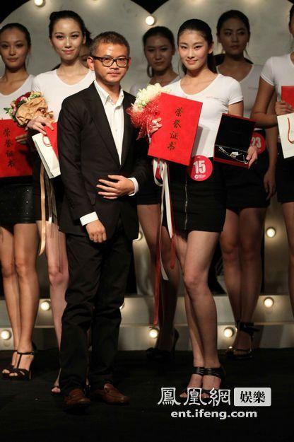 北京办高校模特大赛 艺校女生获得冠军[高清大图]