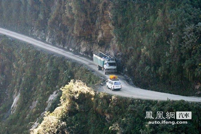 世界第一惊险公路 无不胆寒