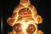 奇异的女性特质面包雕塑