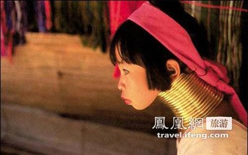 泰国神秘长颈女人村 颈部是丈夫绝对禁地
