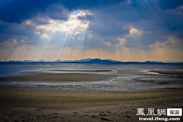 冬季漫步荣成海边 闲散心情看光影流转