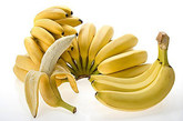 治痔疮和便血:将两条香蕉连皮放在火上烤,然后趁热吃,可改善痔疮及便血。
