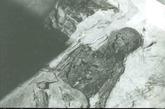 清东陵被孙殿英挖掘后的情景。