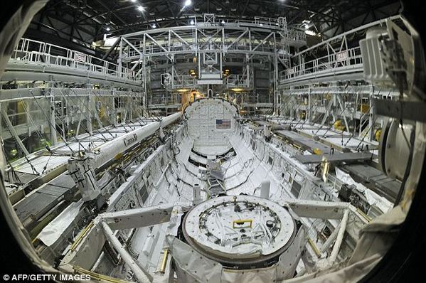 inside space shuttle blueprints - photo #12