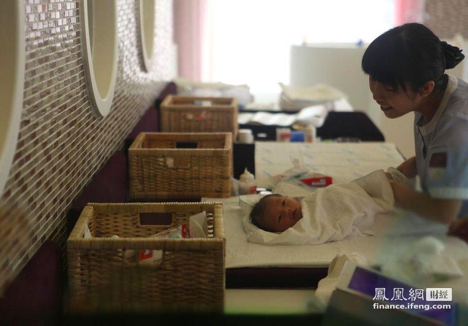 天价月子会所落户上海每月最高花费118万_财经频